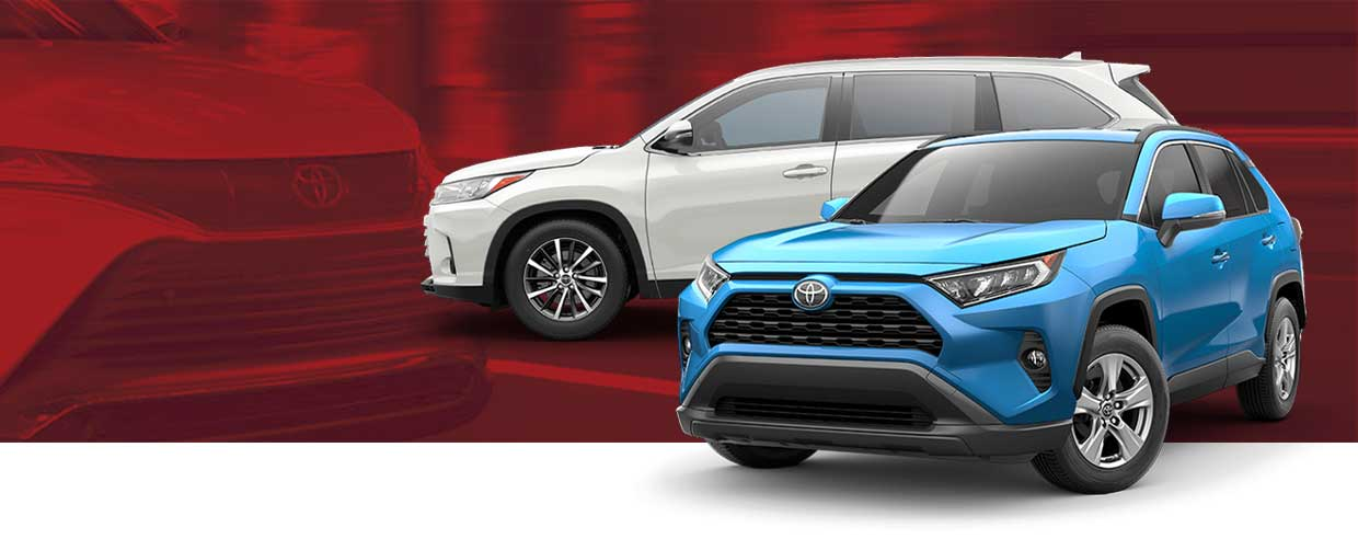 Explore the 2021 Toyota SUV Lineup