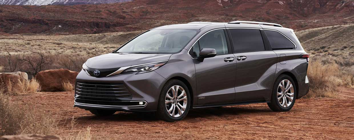 Get Ready for the Minivan of the Future: The 2021 Toyota Sienna