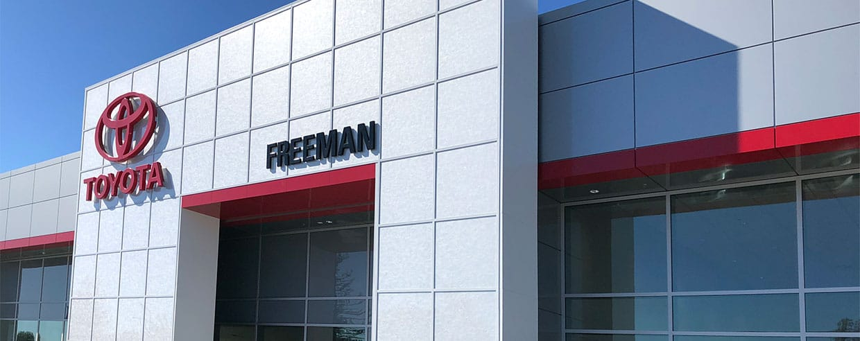 5 NEW Reasons to Choose Freeman Toyota