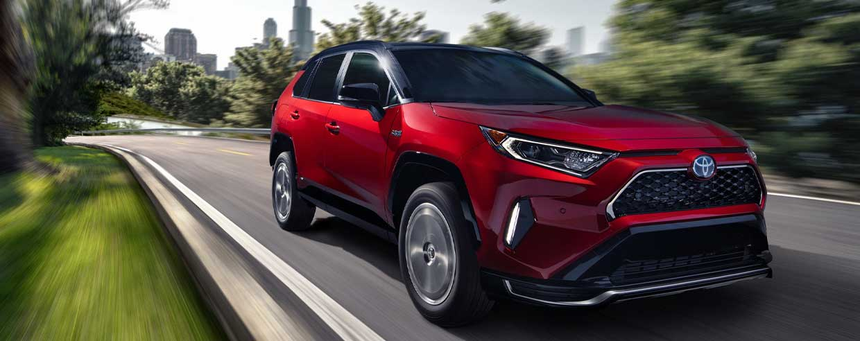 The 2021 RAV4 Prime is Ready for the Spotlight