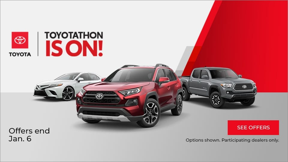Toyotathon is On! Offers End Jan. 6