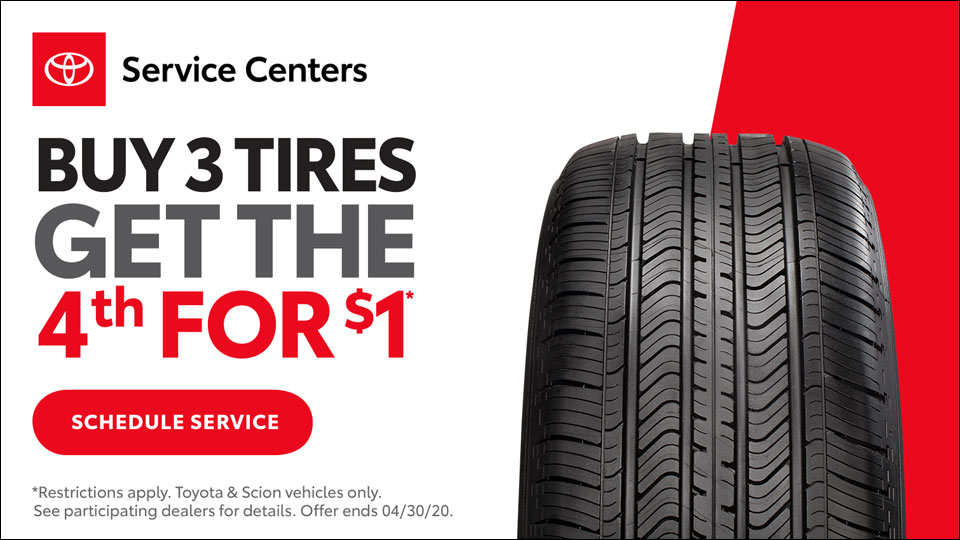 Toyota Tire Savings Event